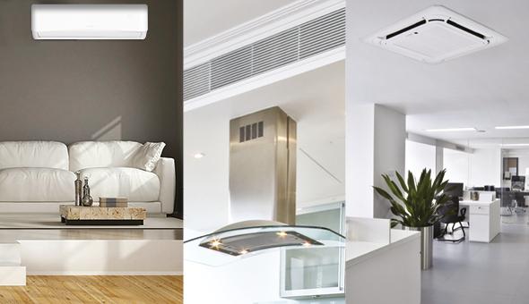 Climatizzazione residenziale e light commercial